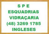S.P.E SERRALHERIA E VIDRAÇARIA EM INGLESES - ESQUADRIAS E VIDRAÇARIA